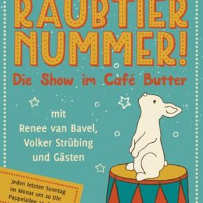 """""""Und jetzt die Raubtiernummer!"""" mit Renee van Bavel"""
