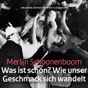 Buchpremiere und Podiumsdiskussion Merlijn Schooneboom, 8.10. um 19.30 Uhr