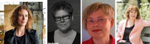 V.l.n.r.: Karolien Berkvens, Ellen Gerretzen, Marianne Vogel en Marjolijn Uitzinger.