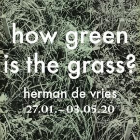 Expositie Herman de Vries in Berlijn